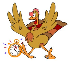 Tick Tock Turkey and the Disappearing Sandwich