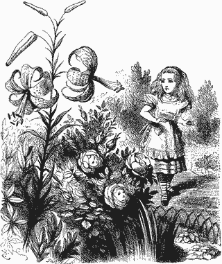 Alice and the Live Flowers