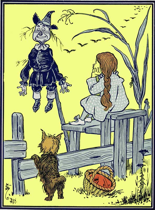 Chapter 3 Wizard Of Oz How Dorothy Saved The Scarecrow Storynory