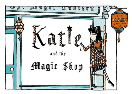 Katie and the Magic Shop Title