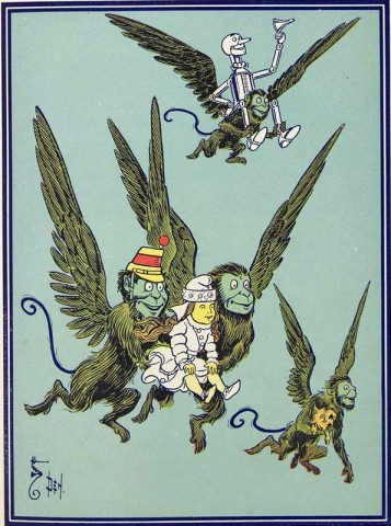 Flying with the Winged Monkeys